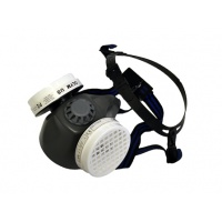 Rubber Safety Mask (Dual Dust Filter)