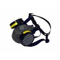 Rubber Safety Mask (Dust Filters)