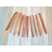 Wooden Modelling Tool Set